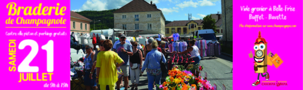 BRADERIE 2018 FORMAT PRESSE CHAMPAGNOLE
