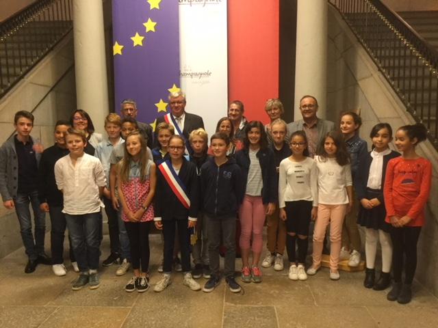 3ème mandat du Conseil Municipal des enfants de Champagnole.