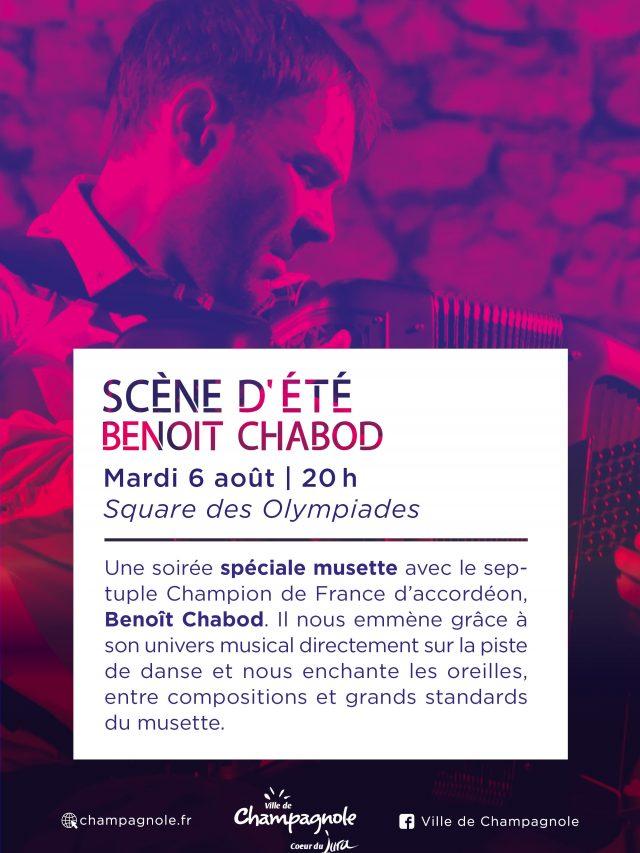 Scène d'été :  spéciale musette avec Benoit Chabod