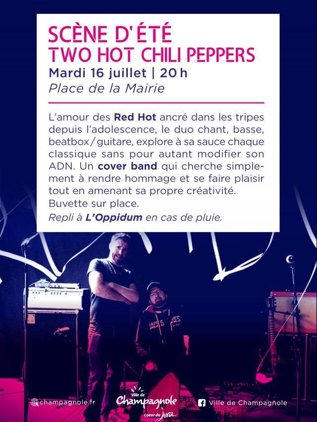 Scène d'été : Two Hot Chili Peppers en concert !