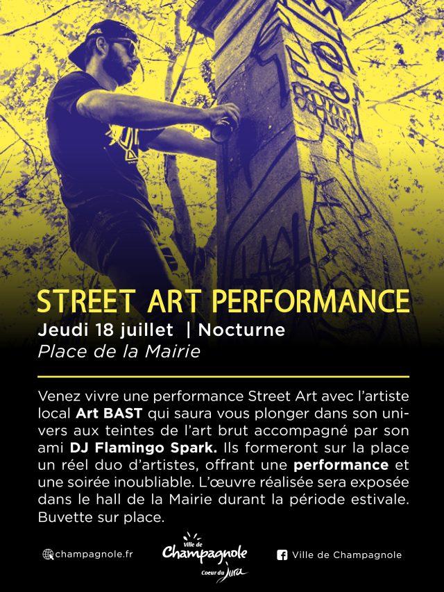 Street Art Performance