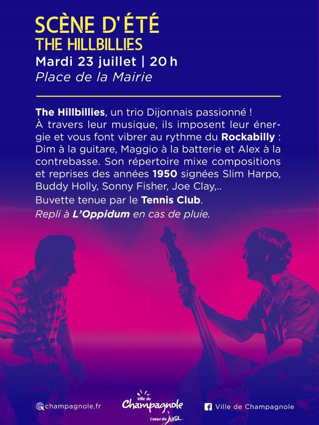 Scène d'été : The Hillbillies en concert !