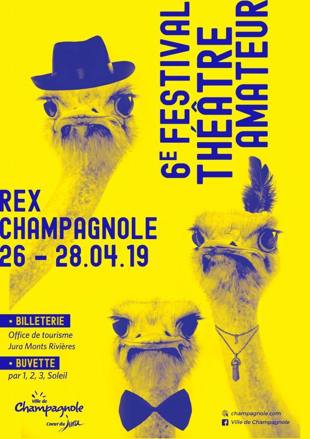 6e Festival de théâtre Amateur 2019