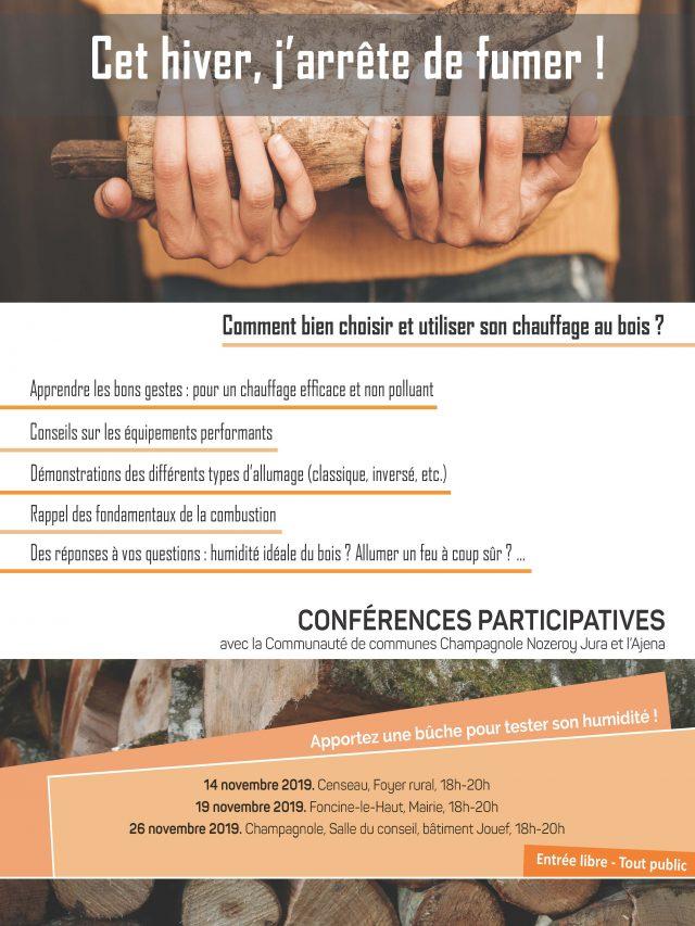 Conférence participative : Comment bien choisir et utiliser son bois de chauffage ?