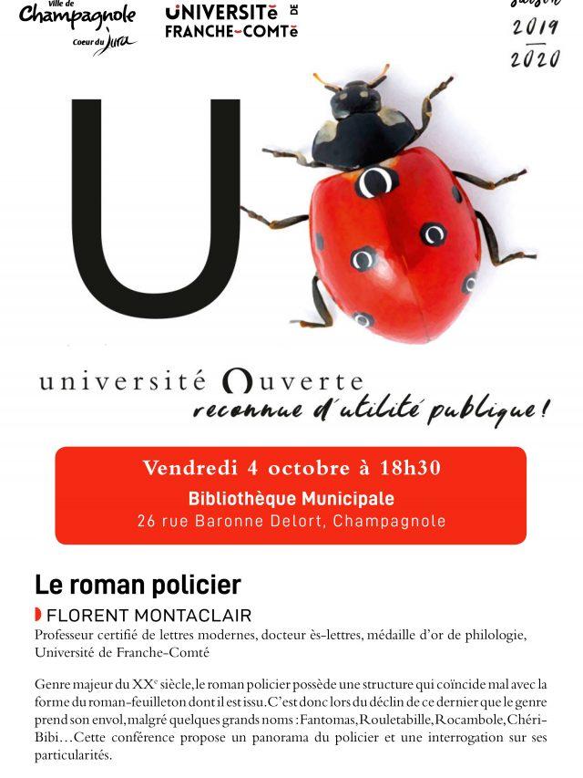 Conférence Université Ouverte