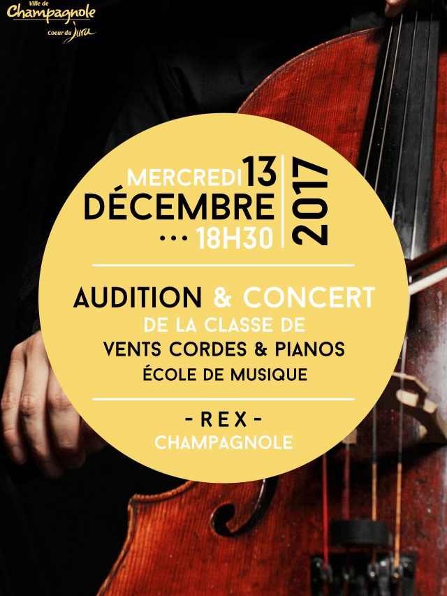 Auditions École de Musique