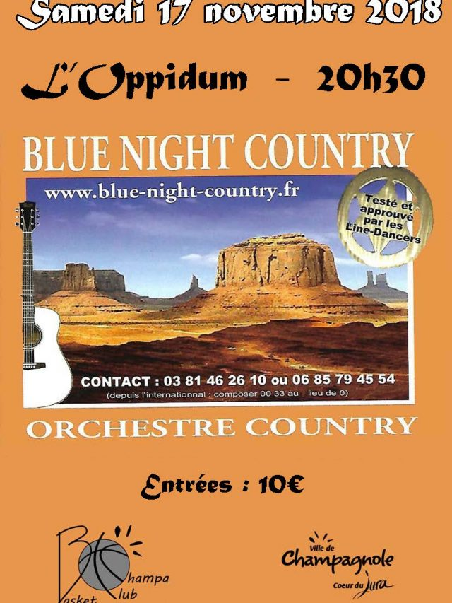 Concert  » Blue Night Country »