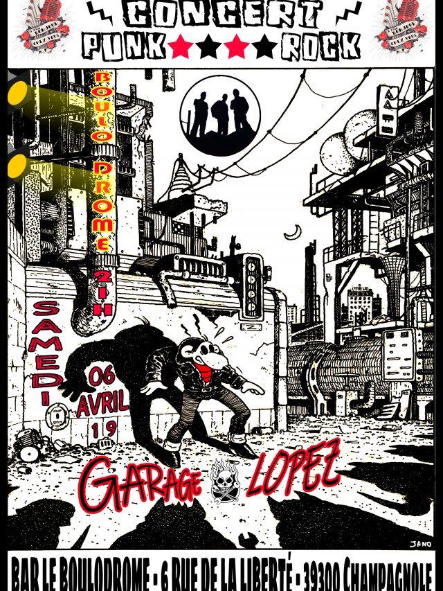 Concert «GARAGE LOPEZ»