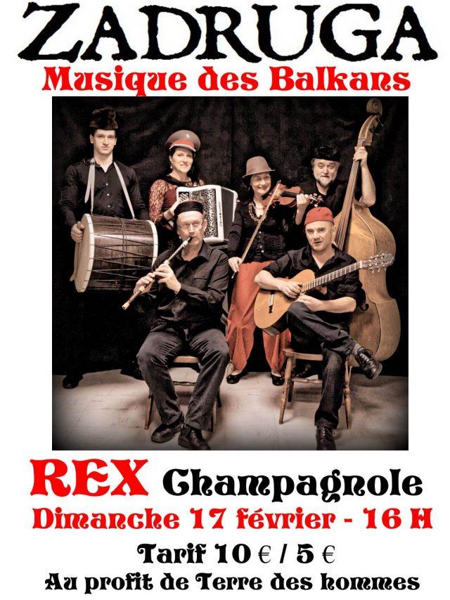 Concert : Zadruga Musique des Balkans