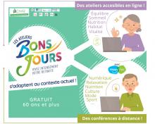 Ateliers Bons Jours 2.0 – Offre virtuelle.