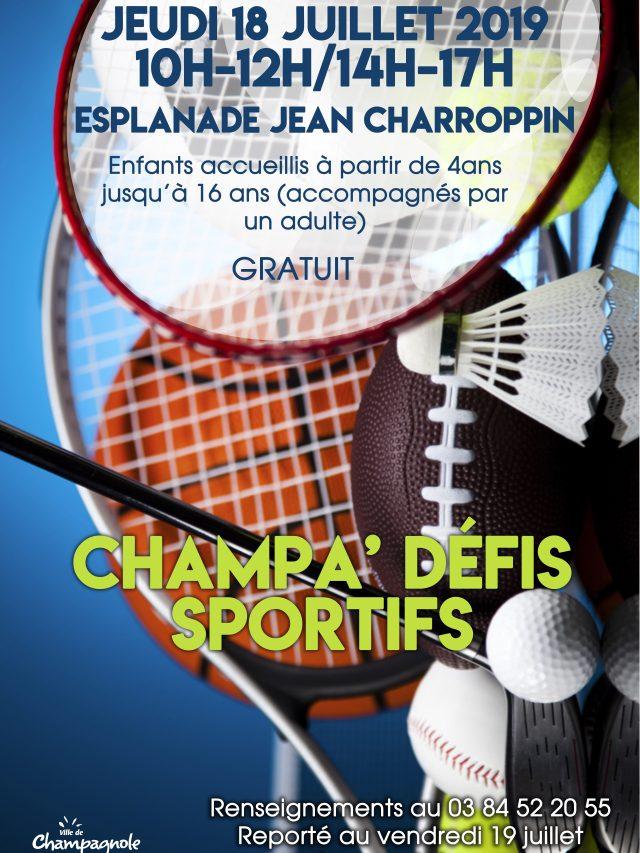 Champa Défi Sportif