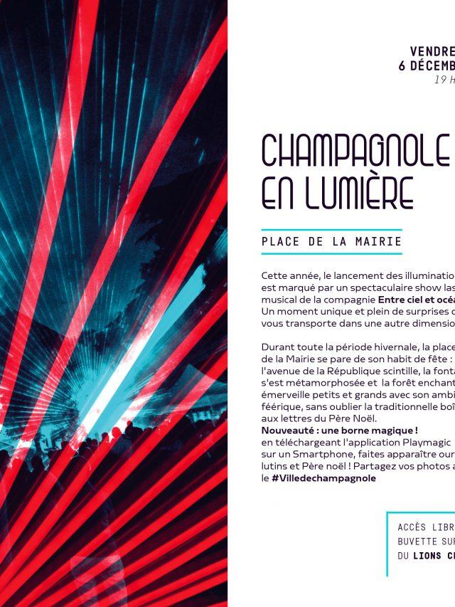 Lancement des illuminations 2019 : Show laser !
