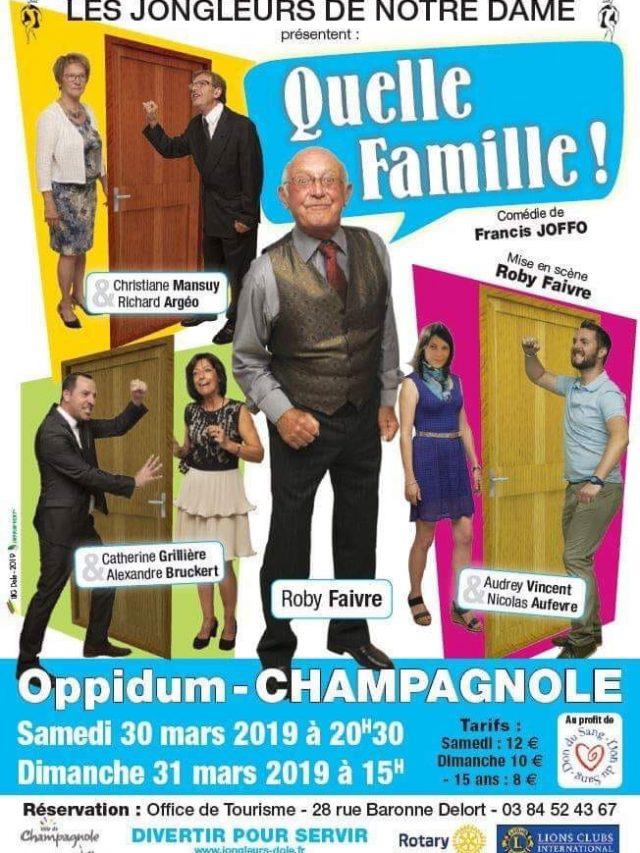 Théâtre «Quelle Famille !» par les Jongleurs de Notre Dame