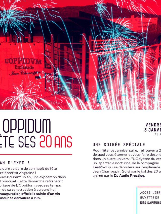 L'Oppidum fête ses 20 ans !