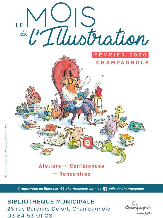 Bibliothèque Municipale : Le mois de L'illustration !