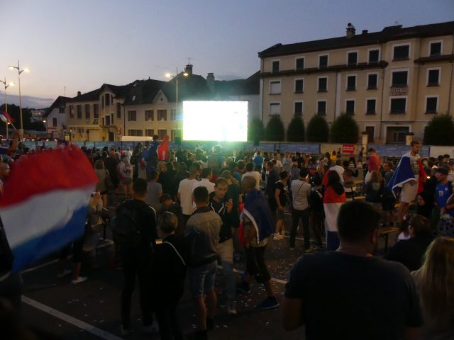 Coupe du Monde 2018 fanzone France-Belgique