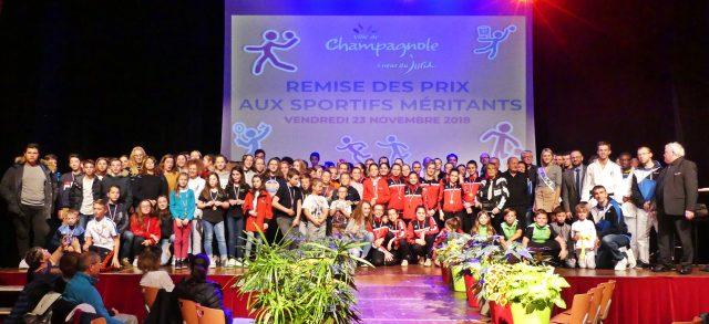 Remise des prix aux sportifs méritants 2018