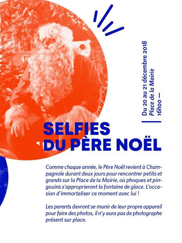 Selfies du Père Noël