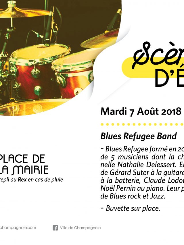 Scène d'été : Blues Refugee Band en concert