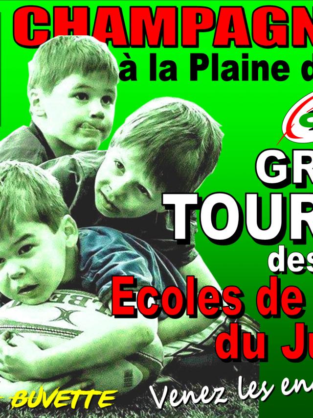 Grand tournoi des écoles de Rugby du Jura