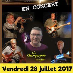 Concert Eclip's Vendredi 28 juillet 2017