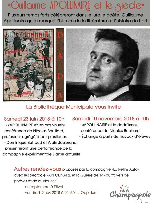 Conférence «Appolinaire et le dadaïsme»