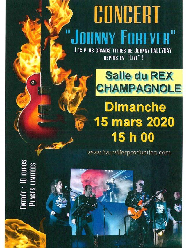 Concert » Johnny Forever»