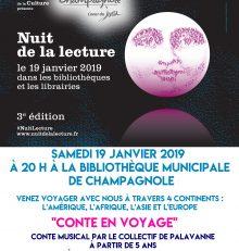 Nuit de la lecture «Conte en voyage»