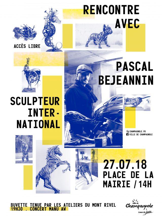 Rencontre avec Pascal BEJEANNIN sculpteur