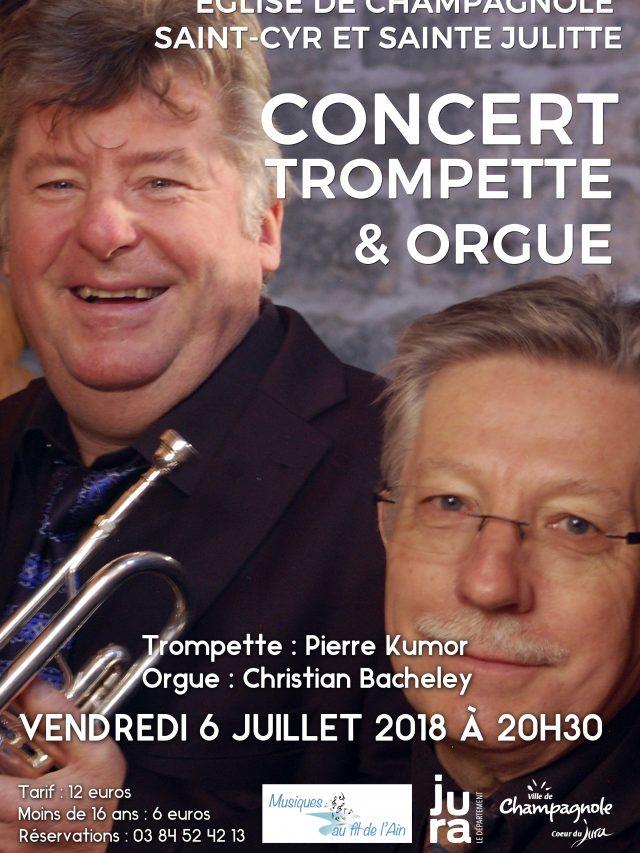 Concert trompette et orgue