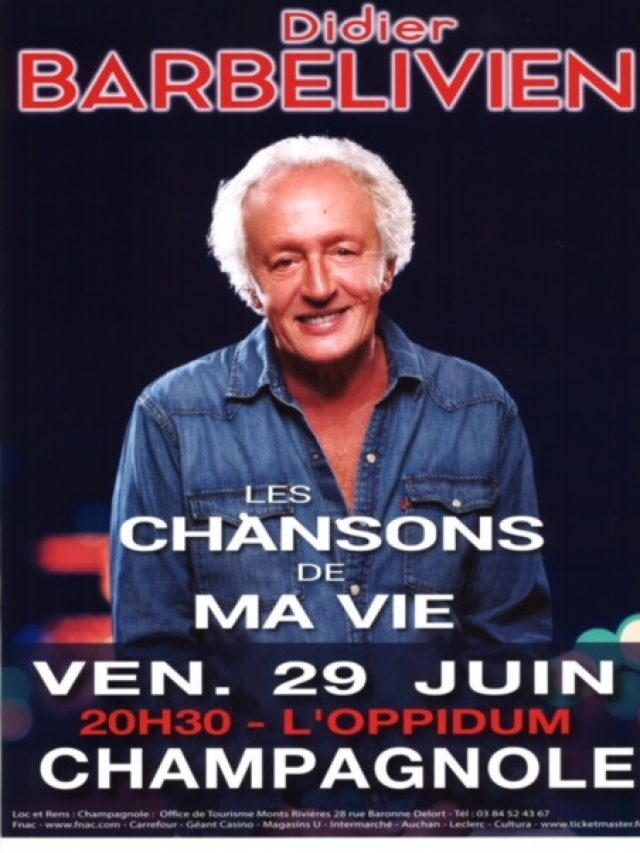 Didier Barbelivien en concert
