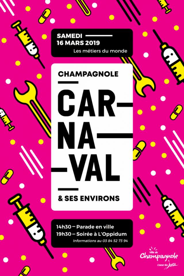 Carnaval 2019 «Les métiers du Monde»