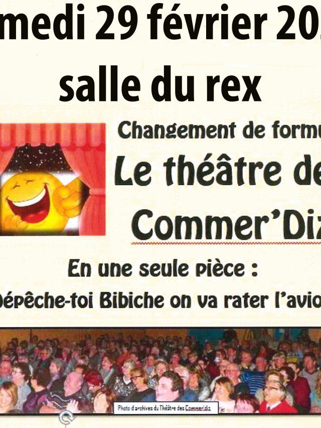 Le Théâtre des Commer'Diz