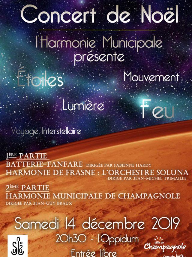Concert de Noël de l'Harmonie Municipale