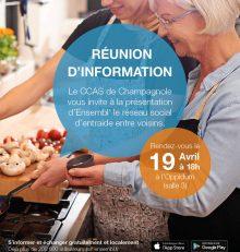 CCAS : réunion d'information sur le réseau social ENSEMBL'