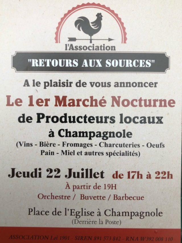 Marché Nocturne de Producteurs Locaux