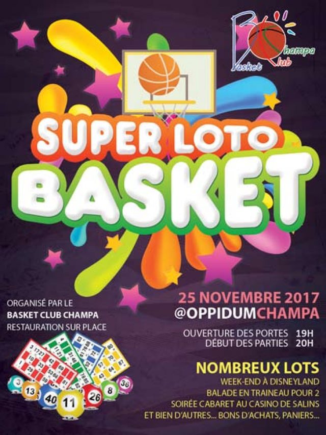 Super Loto du Basket club Champa