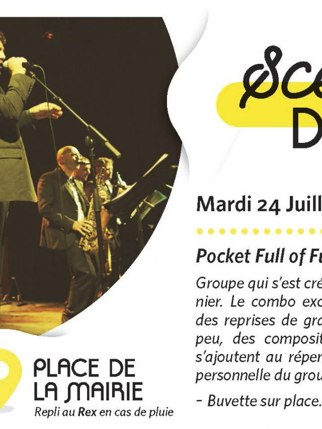 Scène d'été : Pocket full of funk en concert !