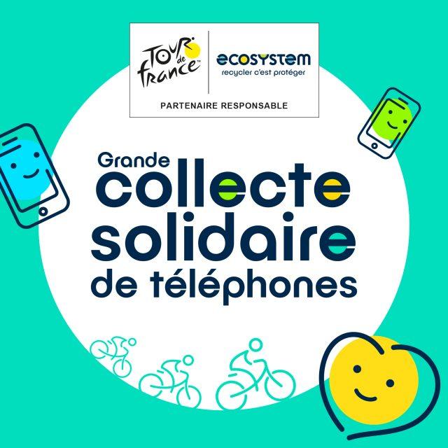 Tour de France : Grande collecte solidaire de téléphone