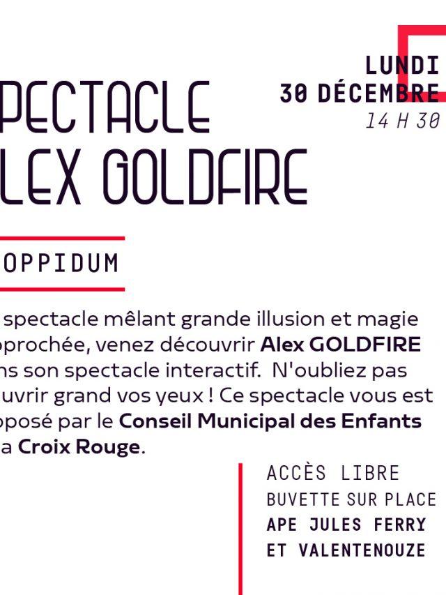 Spectacle de Magie Alex Goldfire