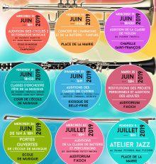 Quinzaine Musicale de l'École de Musique de Champagnole