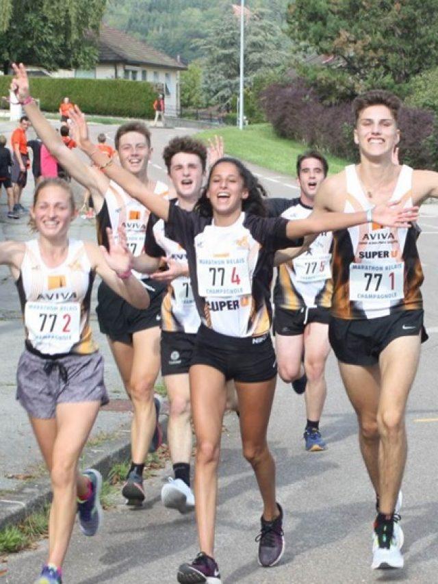 Marathon relais de Champagnole