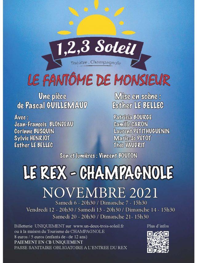 Théâtre  «Le Fantôme de Monsieur» par  la troupe 1,2,3 soleil