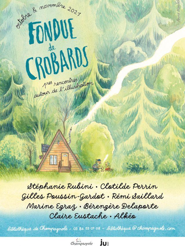 Fondue de Crobards : 1eres rencontres autour de l'illustration